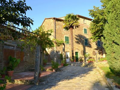 Photo for Villa with large garden, lots of privacy and close to the center of Cortona
