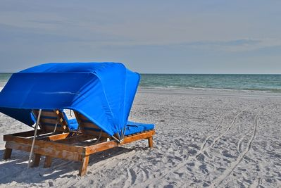 I chased people off the beach for you to enjoy this chair. This view and moment.