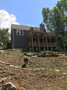Photo for #1 on Beech - Luxury New Private Home/Hot Tub/King Bed/Pets/View/Xbox/Fire Pit🏔💕