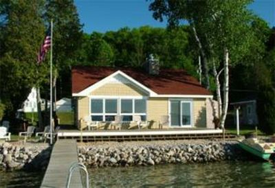 """Photo for """"Skips-Heide-Away"""" on Crystal Lake -Your Four Season Vacation Paradise!"""