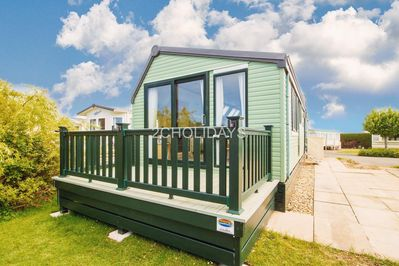 Caravan for hire at Southview Holiday Park