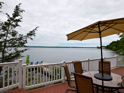 Photo for Sunset Point Saratoga Lakefront Townhouse