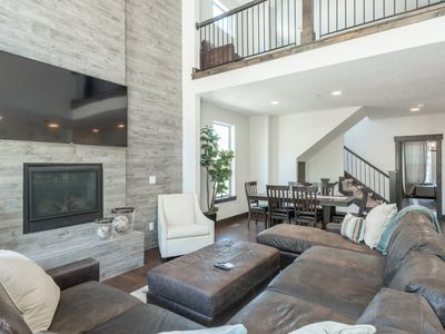 Photo for Retreat At Jordanelle 5 BR -  Modern Park City Area Luxury Townhome Sleeping 17