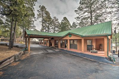 Escape city life with this gorgeous 3-bedroom, 2-bath Ruidoso vacation rental!
