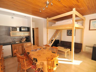 Photo for Alpe d'Huez, Ideally located Apartment/ flat - Alpe d'huez Residential flat
