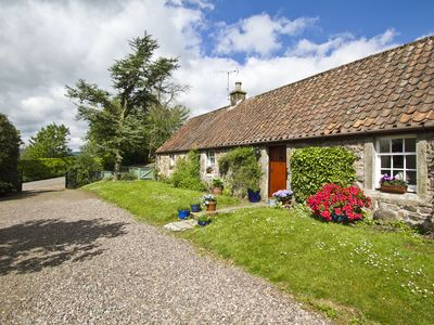 Photo for Beautiful, detatched 300 year old, fully renovated cottage with country views