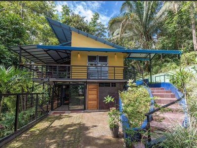 Photo for Beautiful, 2 bed jungle vacation home with monkeys