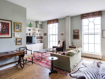 Photo for Spacious Fulham Mill apartment in Hammersmith with balcony.