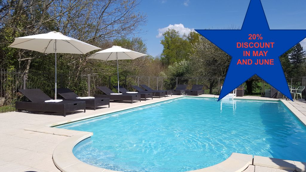 Property Image#1 Stylish Gites In Perigord Limousin Nature Park With Huge  Garden U0026 Heated