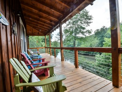 Photo for Steps away from the Toccoa River and Great Fishing