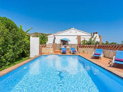 Photo for Modern villa in the style of traditional rural house, short drive to Nejas