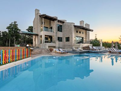Photo for Grand Villa Zevra with its spacious five bedrooms, luxuriously comfortable furnishings and a prime s
