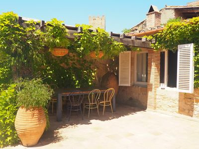 Photo for Ideal house for families, in the center of the village Peratallada