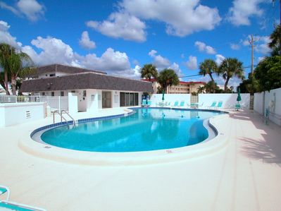 Crescent Arms Condo - heated pool with restrooms