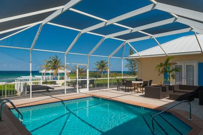 Cayman Sands's features an indoor pool unlike many other villas on island!