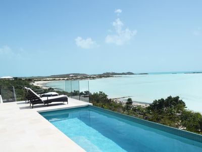 Photo for Brand New Modern Beachfront 3bdrm/3bath with pool and incredible view!!