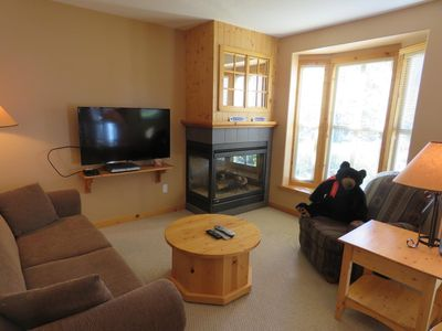 Photo for 1 bedroom corner unit with quick access to ski-out trail