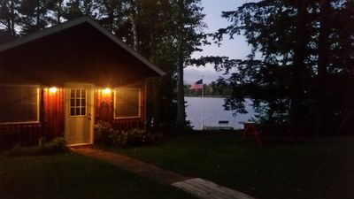 Photo for Peaceful Privacy Lakeside, Private Dock, Great Sunsets, Free WiFi & Cable-Mercer