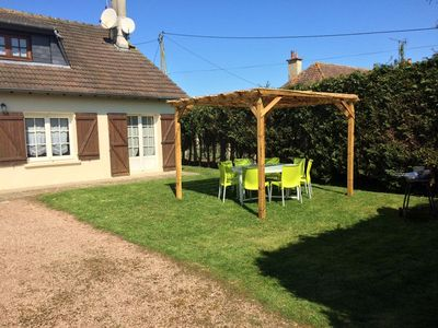 Photo for cabourg beach Large detached house 2 steps from the Avenue de la Mer