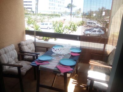 Photo for pretty T2 beachfront Classified furnished 3 stars tourism.