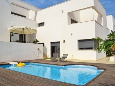 Photo for Design villa with private pool and garden, terraces and sea views