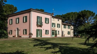 """Photo for Apartment """"Quintino"""" Charming apartments in historical Villa Calanco  the hills"""