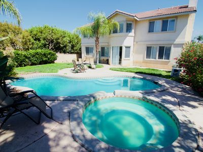 Photo for Huge 5b Family House w/ Pool Summer Retreat,Gated Community, Vacation & Relocation Best Choice!!