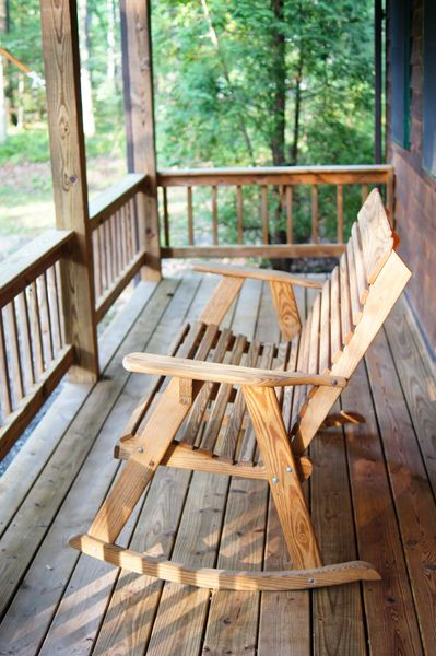 have your morning coffee out on the front porch rocker - Porch Rocker