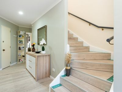Photo for Downstairs apart. only.ASB Trust power Arena and Baypark 6 min car 40  min walk
