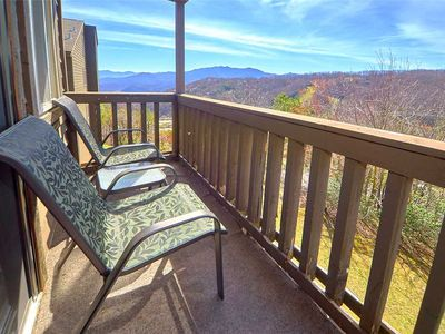 Photo for High Chalet, 2 Bedrooms, Sleeps 6, Amazing View, Pool Access, WiFi