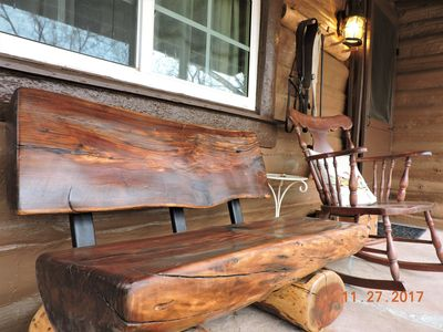 Photo for Sweet! 1.25 Acres & the Creek is Running! Cozy Fireplace! 1.6 Miles to Square