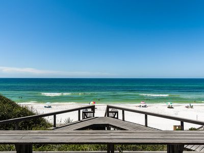 Photo for 4BR/4BA Amazing beachfront Home!  Private pool and 4 complimentary bikes!!!