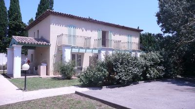 Photo for Villa 3 Duplex, 2 bedrooms, garden and private parking, large pool