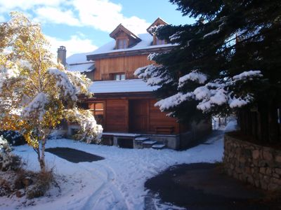 Photo for Serre Chevalier 1400: www.chaletgravier.com : luxury chalet -  Serre chevalier - 1400 -villeneuve