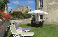 Lovely base for exploring the Loire and it's a castle!