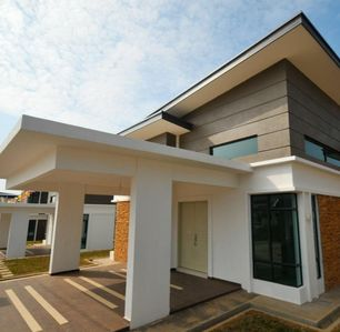 Single storey modern design bungalow with 4 rooms