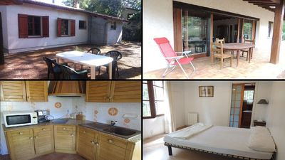 Photo for Detached house with 3 bedrooms for 5 people, close the lake, Carreyre, Lacanau