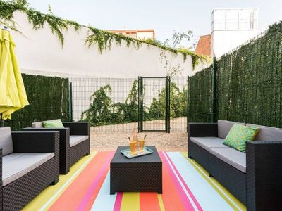 Photo for great terrace in Chamberi