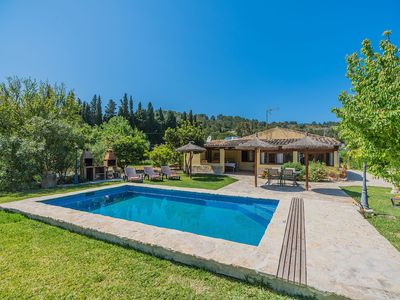 Photo for Villa with privarte pool walking distance to Pollensa and free WiFi