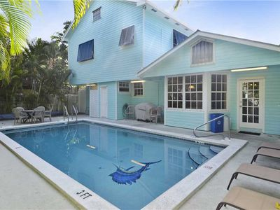 5 bedroom rental with a private pool, only steps to Duval Street, CASA GRANDE