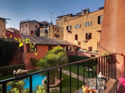 Photo for Apartment 433 m from the center of Rome with Air conditioning, Lift, Washing machine (369740)
