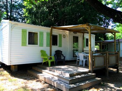 Photo for Camping Castanhada ** - Mobil Home Premium 4 Rooms 6 People conditioning