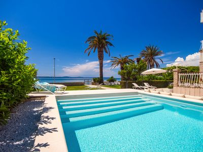Photo for NEW! Beach Villa Amor near Split - private pool, 7 en-suite bedrooms, at beach