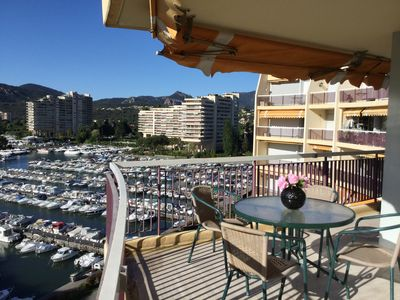 "Photo for Apartment ""France II"" overlooking Cannes Marina and the Lerins Islands"