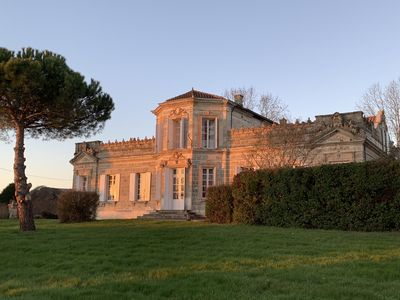 Photo for Stunning 17th century Manor for up to 24 people in Aquitaine Countryside