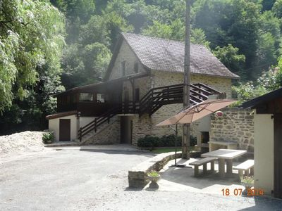 Photo for Gîte Aveyron: Mill 4 * comfort on the Aveyron river