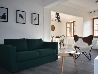 Photo for Green Gold, pretty apartment at the foot of the city