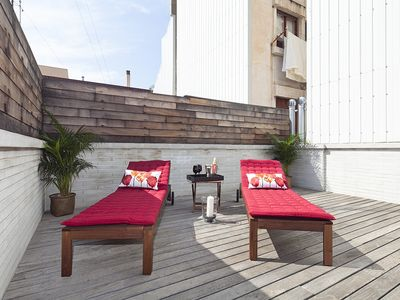 Photo for Gràcia Penthouse with Terrace and Swimming Pool