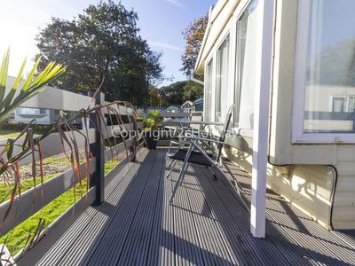 Photo for Dog friendly caravan for hire in Suffolk near Great Yarmouth ref 32024