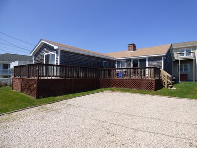 Photo for Oceanfront Breakwater Village Cottage, Walk to Private Beach